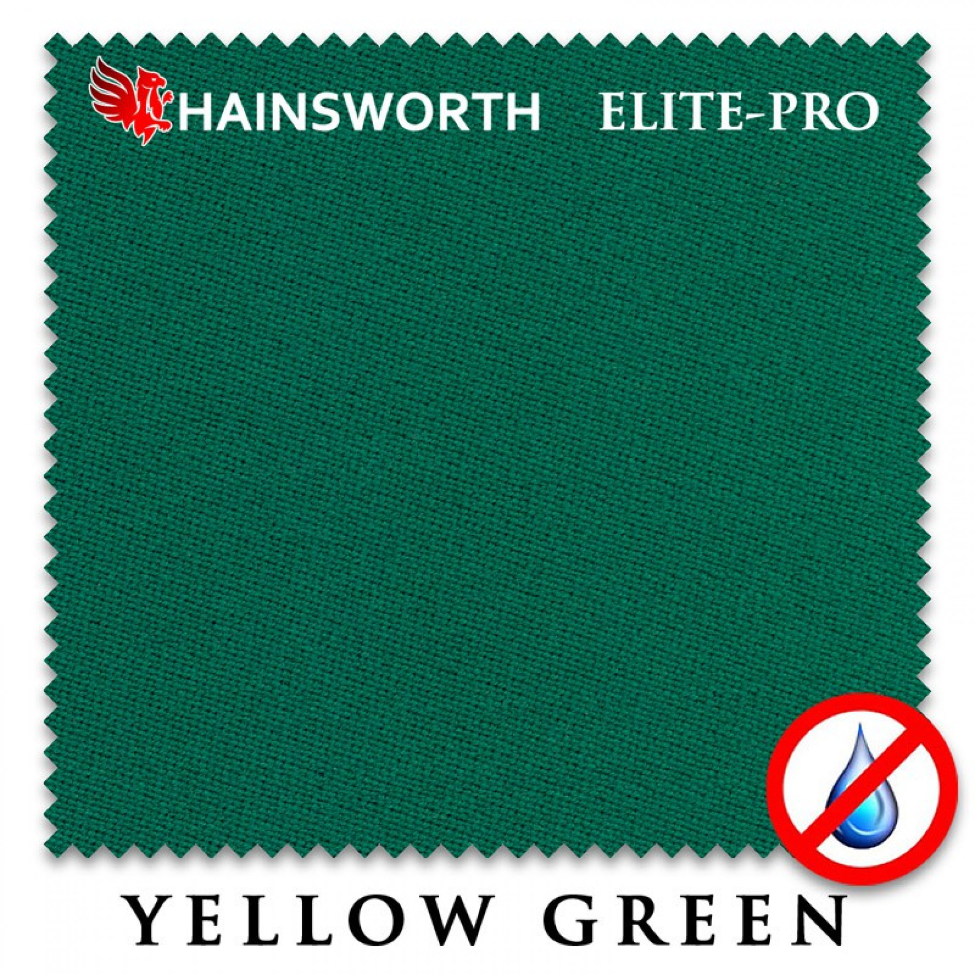 Сукно бильярдное HAINSWORTH ELITE PRO WATERPROOF 198СМ YELLOW GREEN